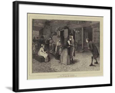 The End of the Journey-Henry Towneley Green-Framed Art Print