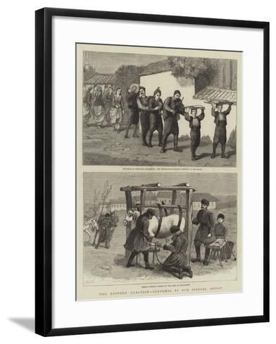 The Eastern Question-Henry Marriott Paget-Framed Art Print