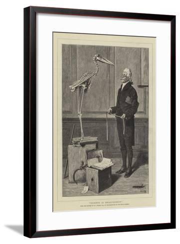 Science Is Measurement-Henry Stacey Marks-Framed Art Print