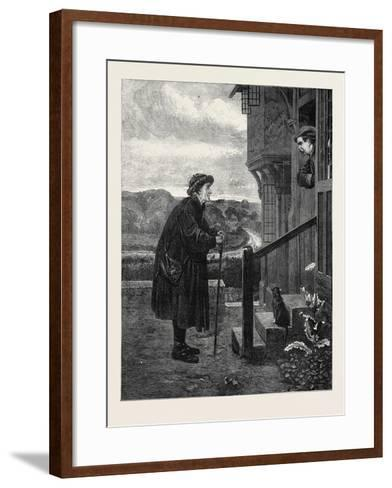 The Village Gossip, from the Exhibition in the Dudley Gallery 1871-Henry Stacey Marks-Framed Art Print