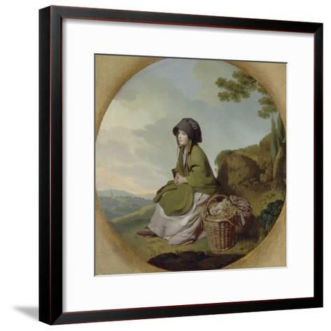Market Girl (The Silver Age) C.1776-77-Henry Walton-Framed Art Print