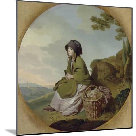 Market Girl (The Silver Age) C.1776-77-Henry Walton-Mounted Giclee Print