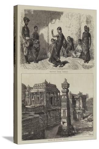 Views in India-Henry William Brewer-Stretched Canvas Print