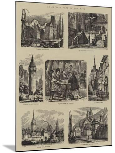 An Artist's Tour on the Main-Henry William Brewer-Mounted Giclee Print