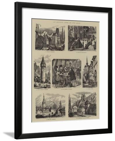 An Artist's Tour on the Main-Henry William Brewer-Framed Art Print