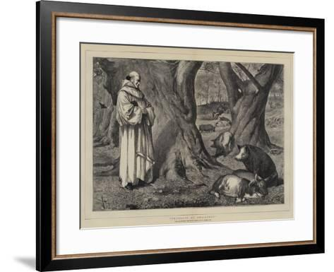 Thoughts of Christmas-Henry Stacey Marks-Framed Art Print