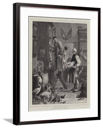 The Ornithologist-Henry Stacey Marks-Framed Art Print