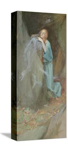Study for Pandora, 1902-Henry Meynell Rheam-Stretched Canvas Print