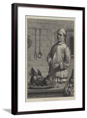 The Finishing Touch-Henry Stacey Marks-Framed Art Print