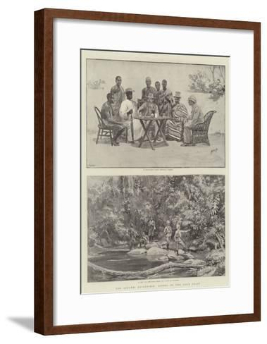 The Ashanti Expedition, Scenes on the Gold Coast-Henry Marriott Paget-Framed Art Print