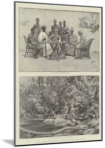 The Ashanti Expedition, Scenes on the Gold Coast-Henry Marriott Paget-Mounted Giclee Print