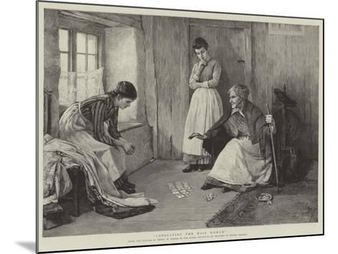 Consulting the Wise Woman-Henry Meynell Rheam-Mounted Giclee Print