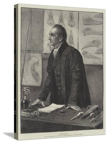 The Professor-Henry Stacey Marks-Stretched Canvas Print