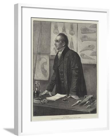 The Professor-Henry Stacey Marks-Framed Art Print