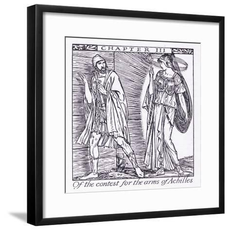 Of the Contest for the Arms of Achilles-Herbert Cole-Framed Art Print
