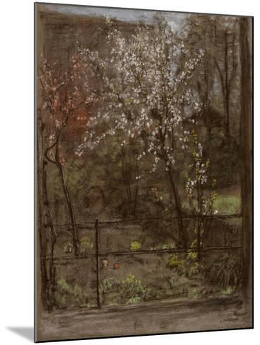 Spring Blossoms-Henry Muhrmann-Mounted Giclee Print