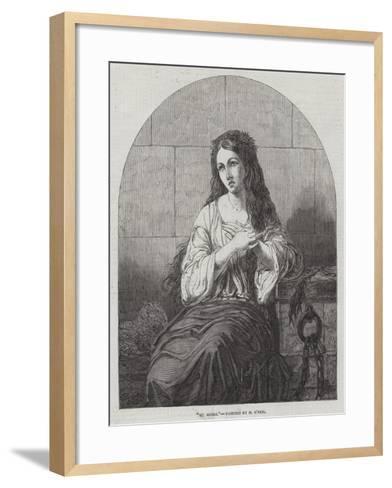 St Agnes-Henry O'Neill-Framed Art Print