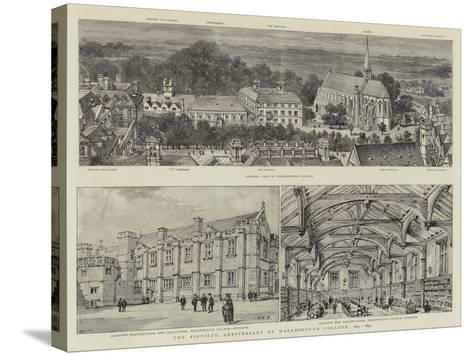 The Fiftieth Anniversary of Marlborough College, 1843-1893-Henry William Brewer-Stretched Canvas Print