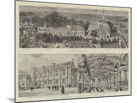 The Fiftieth Anniversary of Marlborough College, 1843-1893-Henry William Brewer-Mounted Giclee Print