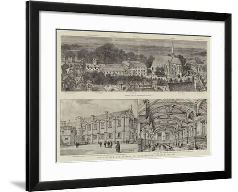 The Fiftieth Anniversary of Marlborough College, 1843-1893-Henry William Brewer-Framed Art Print