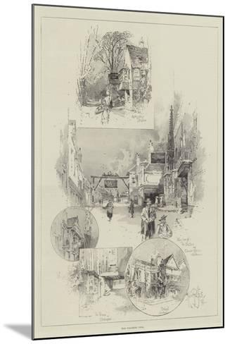 Old Coaching Inns-Herbert Railton-Mounted Giclee Print