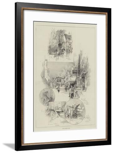 Old Coaching Inns-Herbert Railton-Framed Art Print