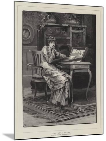 The Love Token-Herbert Gandy-Mounted Giclee Print
