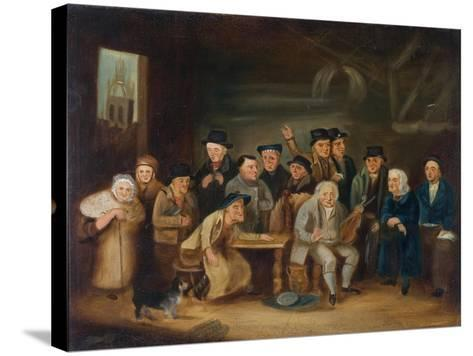 Eccentric Characters of Newcastle-Henry Perlee Parker-Stretched Canvas Print