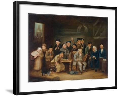 Eccentric Characters of Newcastle-Henry Perlee Parker-Framed Art Print