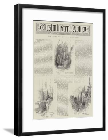 Westminster Abbey-Herbert Railton-Framed Art Print