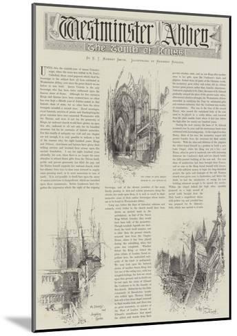 Westminster Abbey-Herbert Railton-Mounted Giclee Print