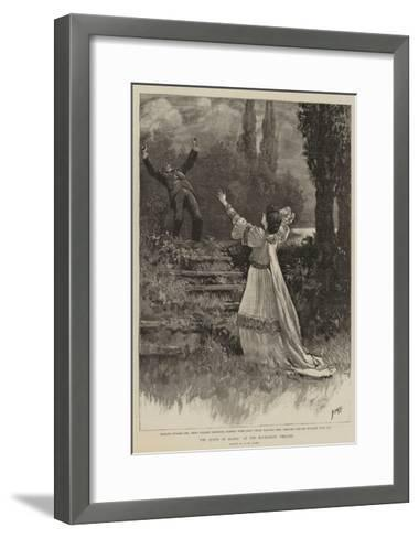 The Queen of Manoa at the Haymarket Theatre-Henry Marriott Paget-Framed Art Print