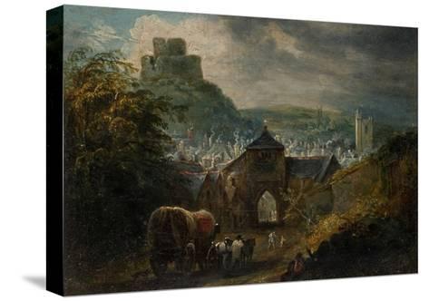 Glastonbury, Somerset-Henry Perlee Parker-Stretched Canvas Print