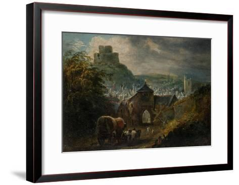 Glastonbury, Somerset-Henry Perlee Parker-Framed Art Print