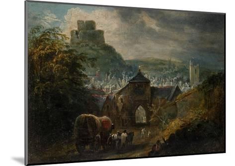Glastonbury, Somerset-Henry Perlee Parker-Mounted Giclee Print