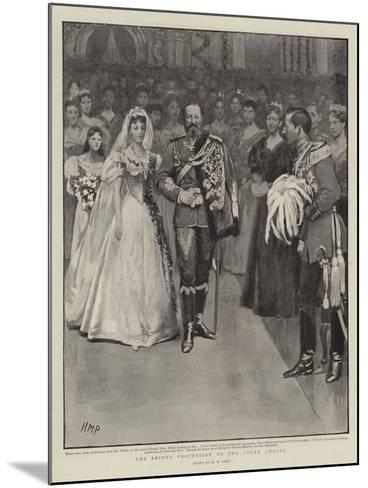 The Bride's Procession to the Court Chapel-Henry Marriott Paget-Mounted Giclee Print