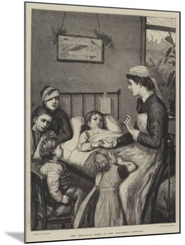The Christmas Story in the Children's Hospital-Henry Robert Robertson-Mounted Giclee Print