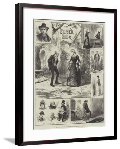 Sketches from The Silver King, at the Princess's Theatre-Henry Stephen Ludlow-Framed Art Print