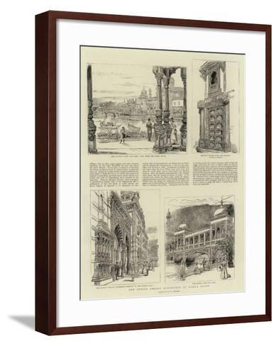 The Indian Empire Exhibition at Earl's Court-Henry William Brewer-Framed Art Print