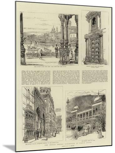 The Indian Empire Exhibition at Earl's Court-Henry William Brewer-Mounted Giclee Print