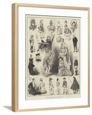 Juvenile Fancy-Dress Ball at the Mansion House-Henry Stephen Ludlow-Framed Art Print