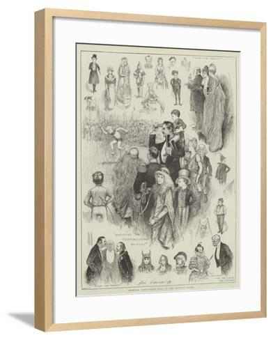 Juvenile Fancy-Dress Ball at the Mansion House-Henry Stephen Ludlow-Framed Art Print