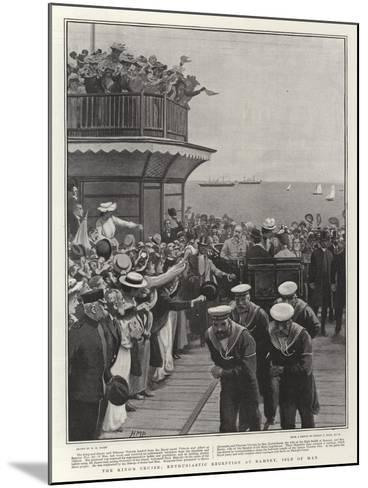 The King's Cruise, Enthusiastic Reception at Ramsey, Isle of Man-Henry Marriott Paget-Mounted Giclee Print