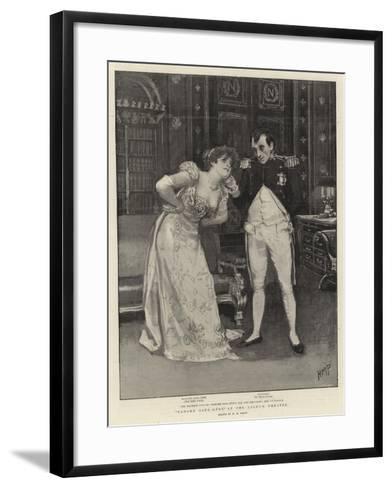 Madame Sans-Gene at the Lyceum Theatre-Henry Marriott Paget-Framed Art Print