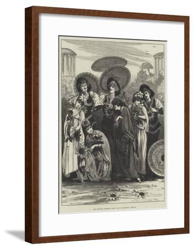 The Aesthetic Quadrille Party-Henry Stephen Ludlow-Framed Art Print