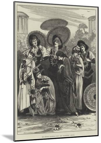 The Aesthetic Quadrille Party-Henry Stephen Ludlow-Mounted Giclee Print