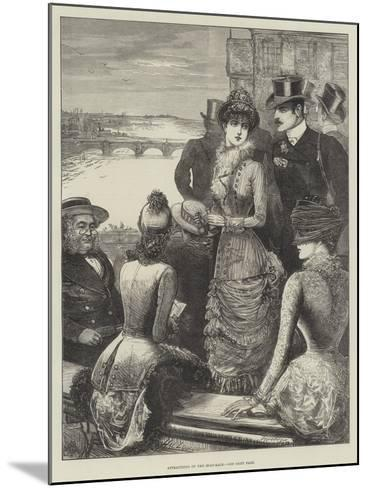 Attractions of the Boat-Race-Henry Stephen Ludlow-Mounted Giclee Print