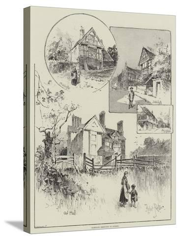 Rambling Sketches in Sussex-Herbert Railton-Stretched Canvas Print