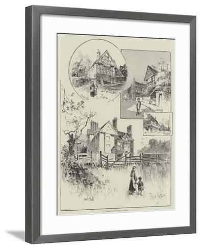 Rambling Sketches in Sussex-Herbert Railton-Framed Art Print