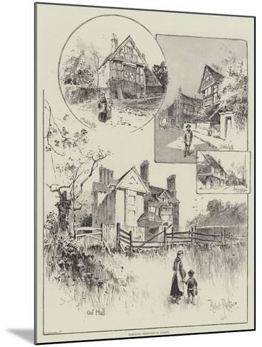 Rambling Sketches in Sussex-Herbert Railton-Mounted Giclee Print